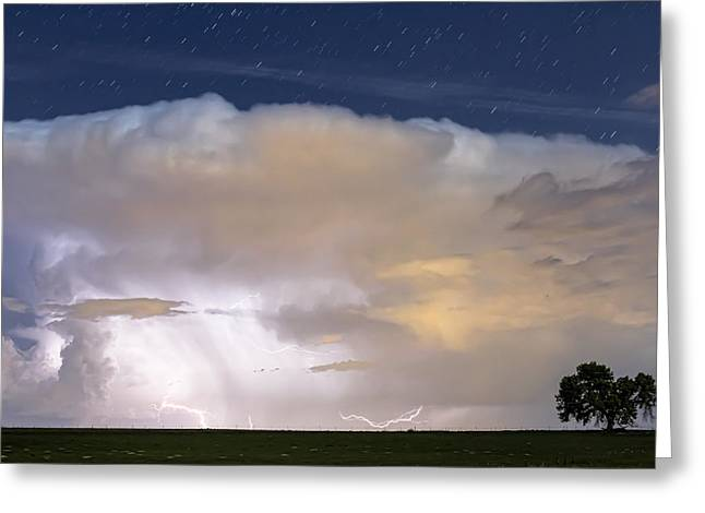 Field. Cloud Greeting Cards - Storm Riders Greeting Card by James BO  Insogna