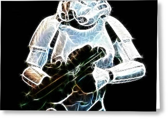 Storm Trooper Greeting Card by Paul Ward