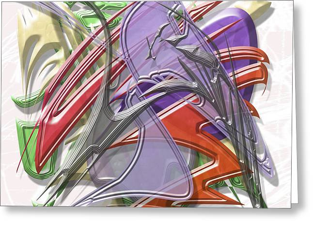 Storm Prints Digital Art Greeting Cards - Storm Greeting Card by Warren Lynn