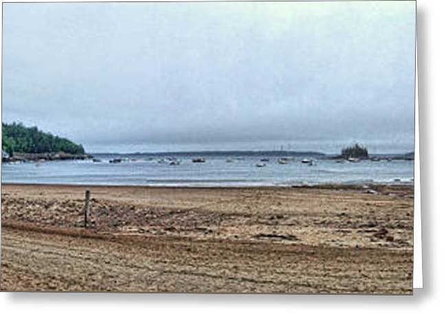 Maine Beach Greeting Cards - Storms and Low Tide 2 Greeting Card by John Trommer