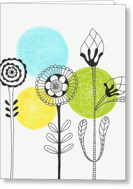 Lisa Noneman Mixed Media Greeting Cards - Storms Dont Last Forever Greeting Card by Lisa Noneman