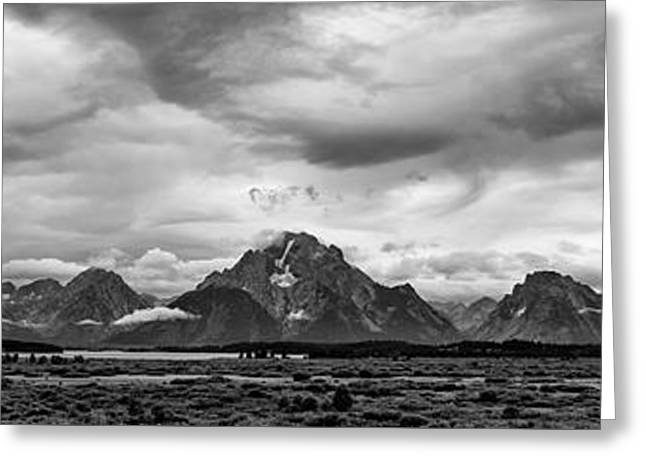 Willow Lake Greeting Cards - Stormy Evening in the Tetons Greeting Card by Matt Hammerstein