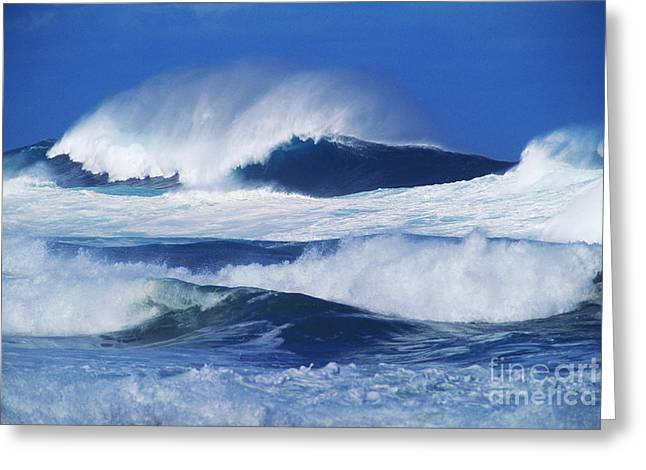 Perfect Storm Greeting Cards - Stormy Water Greeting Card by Carl Shaneff - Printscapes