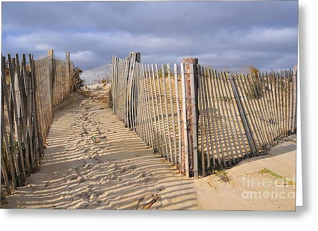 Duxbury Greeting Cards - Stormy weather Greeting Card by Catherine Reusch  Daley