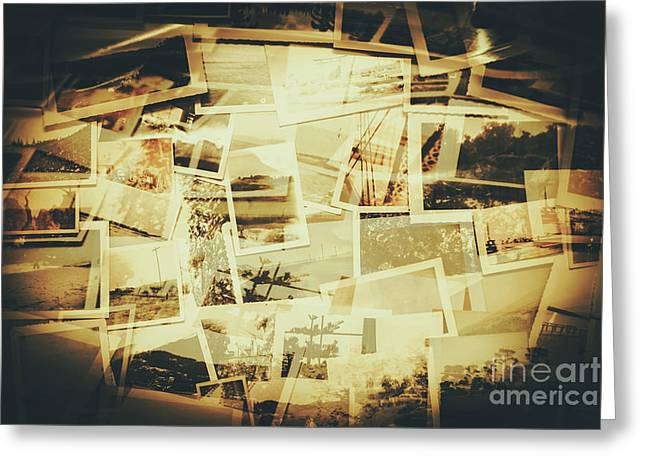 Storyboard Of Past Memories Greeting Card by Jorgo Photography - Wall Art Gallery