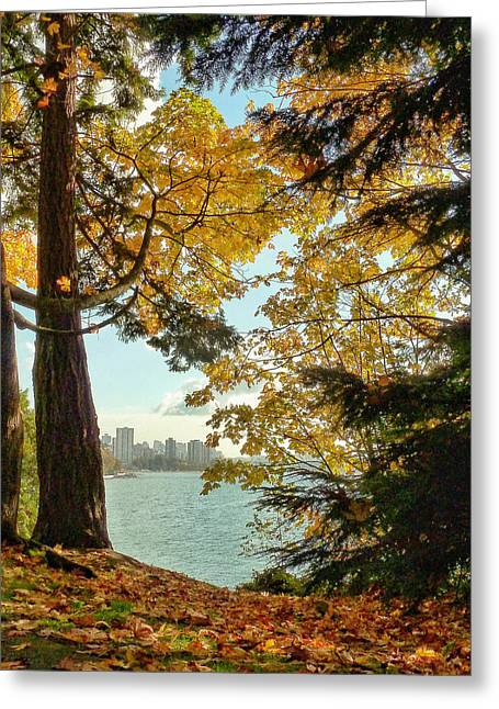 Vancouver Greeting Cards - Storybook Pastoral Greeting Card by Connie Handscomb