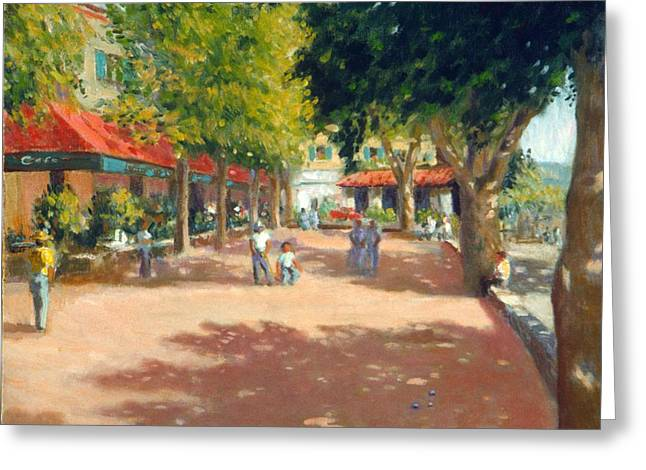 South Of France Greeting Cards - St.Paul de Vence  South France Greeting Card by David Olander