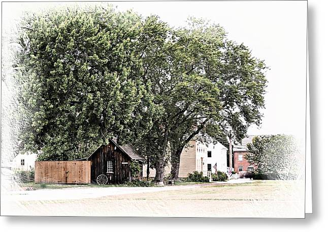City Art Greeting Cards - Strawbery Banke  NH Greeting Card by Marcia Lee Jones