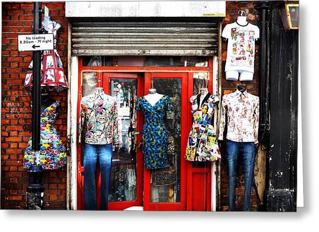 T Shirts Greeting Cards - Street Fashion Greeting Card by Mark Rogan