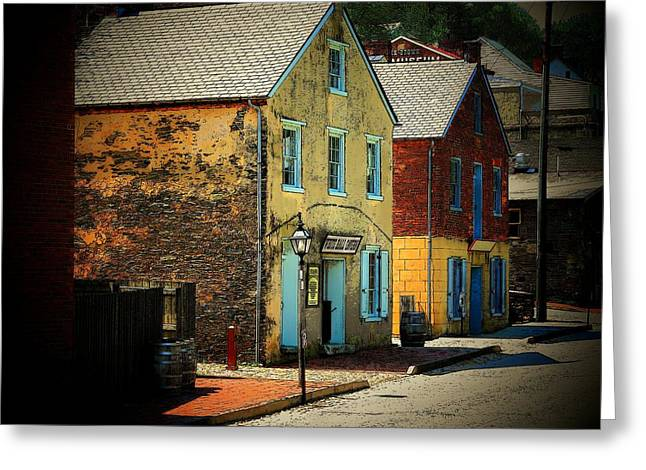 Street In Harper's Ferry Greeting Card by Joyce Kimble Smith