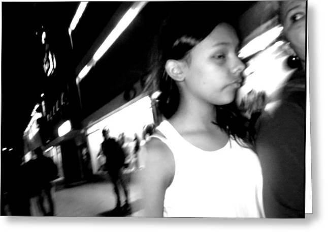 Artistic Photography Greeting Cards - Street Portrait   137 Greeting Card by Daniel Gomez