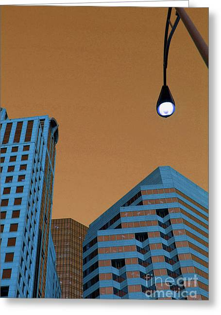 Charlotte Greeting Cards - Street View Greeting Card by Karol  Livote