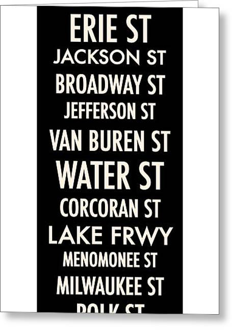 Summerfest Greeting Cards - Streets of Third Ward Milwaukee Greeting Card by Geoff Strehlow