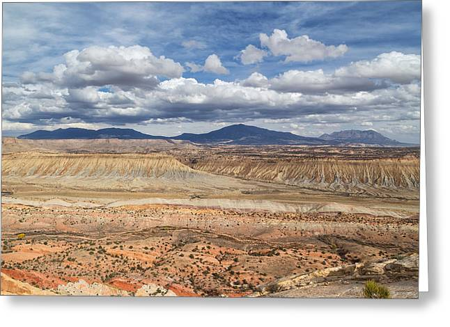 Southern Utah Greeting Cards - Strike Valley  Greeting Card by Kathleen Bishop
