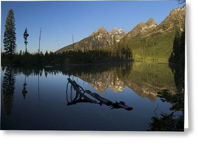 Strings Greeting Cards - String Lake Greeting Card by Noah Bryant