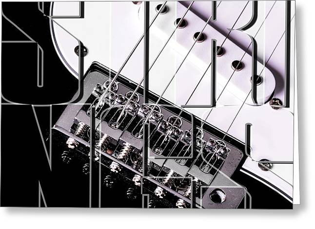 Strings Greeting Card by Toppart Sweden