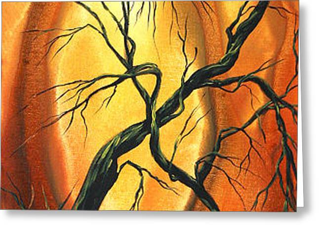Striving to be the Best by MADART Greeting Card by Megan Duncanson
