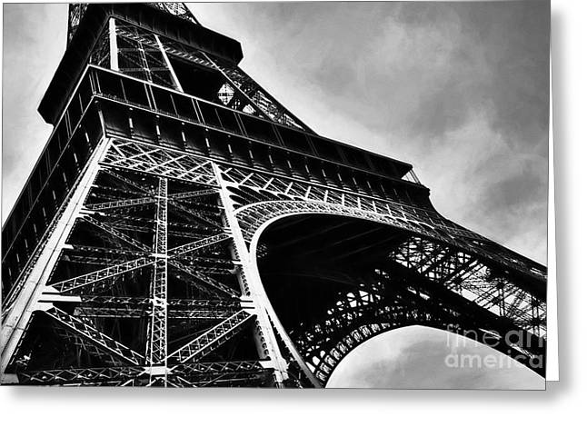 Strong As Steel In Paris Greeting Card by Mel Steinhauer