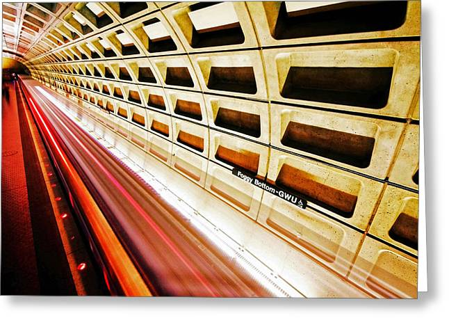 Metro Photographs Greeting Cards - Stronger in the Contrast Greeting Card by Mitch Cat