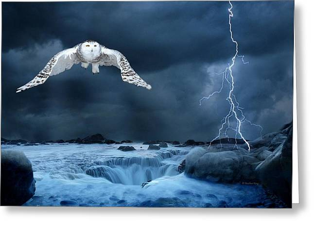 Stronger Than The Storm Greeting Card by Heather King