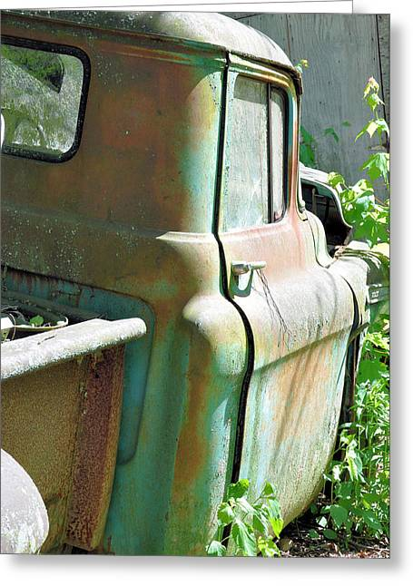 Old Trucks Greeting Cards - Stuck At Home Greeting Card by Jan Amiss Photography