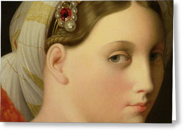 Study for an Odalisque Greeting Card by Ingres