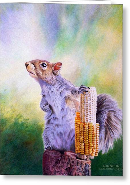 Orator Greeting Cards - Stump Speech Greeting Card by Bob Nolin