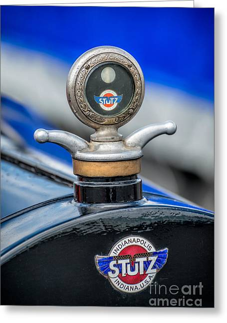 Mascot Greeting Cards - Stutz Motor Company Greeting Card by Adrian Evans