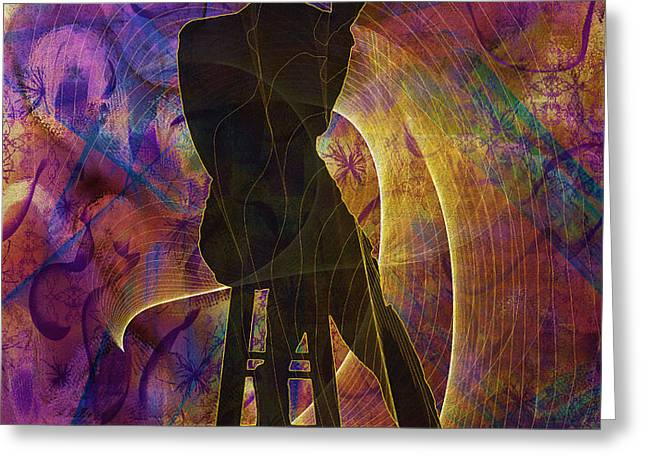 Abstract Style Greeting Cards - Stylin 3 Greeting Card by Sydne Archambault
