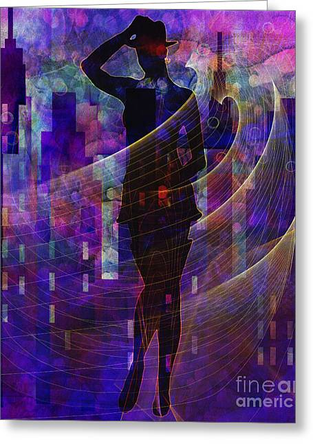 Abstract Style Greeting Cards - Stylin5 Greeting Card by Sydne Archambault