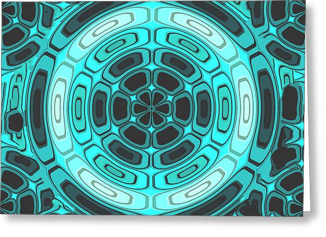 Stylish Duotone Greeting Card by Gaspar Avila