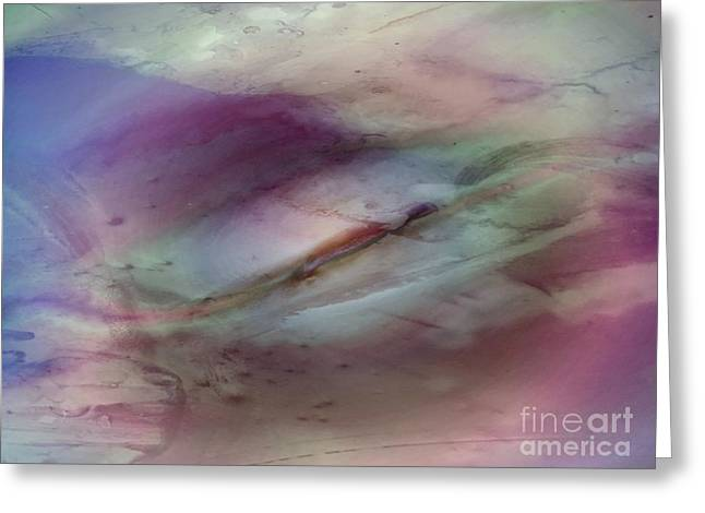Featured Art Greeting Cards - Subdued Echo Greeting Card by TLynn Brentnall