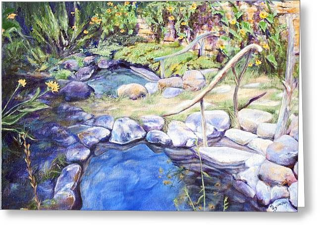 Sublime pools  Greeting Card by M Schaefer
