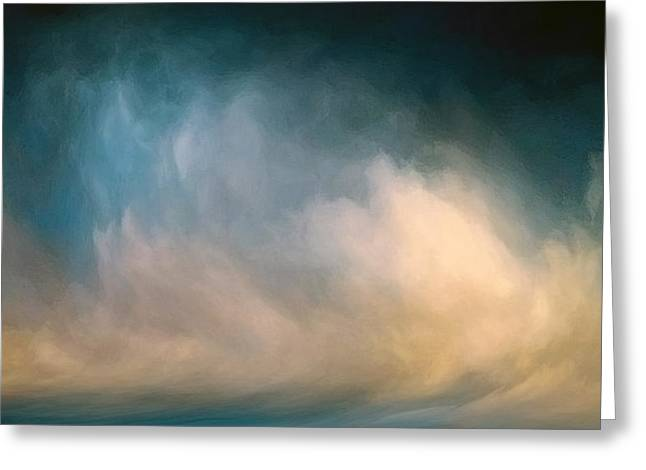 Sublime Seascape Greeting Card by Lonnie Christopher