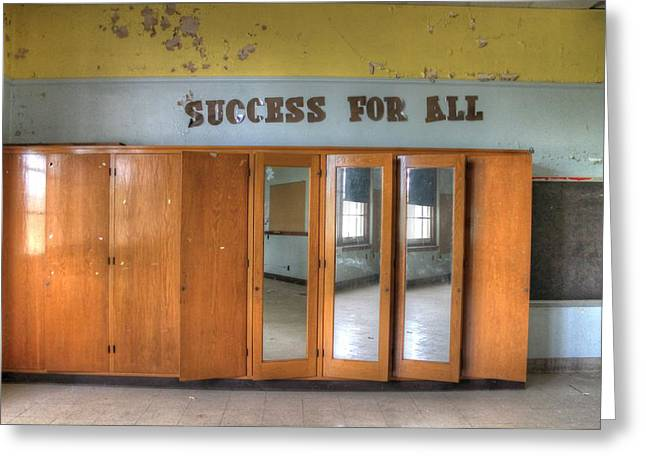 Success For All? Greeting Card by Jane Linders
