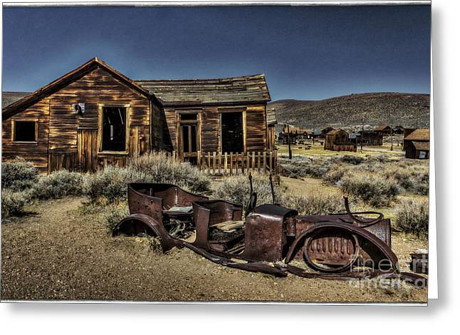 Bodie Out House Greeting Cards - Successes Is Survival Greeting Card by Mitch Shindelbower