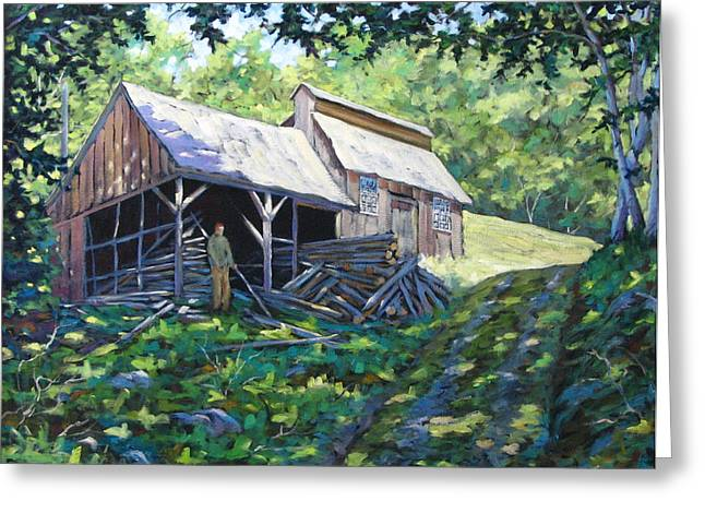 Flowers Direct Greeting Cards - Sugar Shack in July Greeting Card by Richard T Pranke