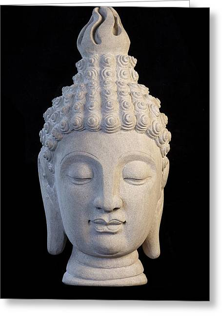 Buddhism Sculptures Greeting Cards - Sukhothai C Greeting Card by Terrell Kaucher
