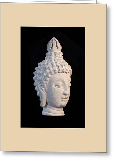 Serene Sculptures Greeting Cards - Sukhothai R GC Greeting Card by Terrell Kaucher