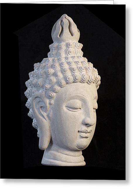 Serene Sculptures Greeting Cards - Sukhothai R  Greeting Card by Terrell Kaucher