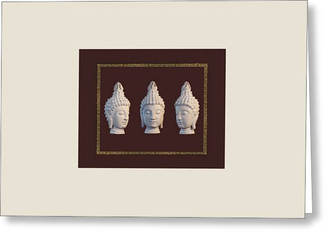 Choosing Sculptures Greeting Cards - Sukothai 31 MB Greeting Card by Terrell Kaucher
