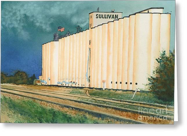 Sullivan Elevator Ulysses KS Greeting Card by Tracy L Teeter
