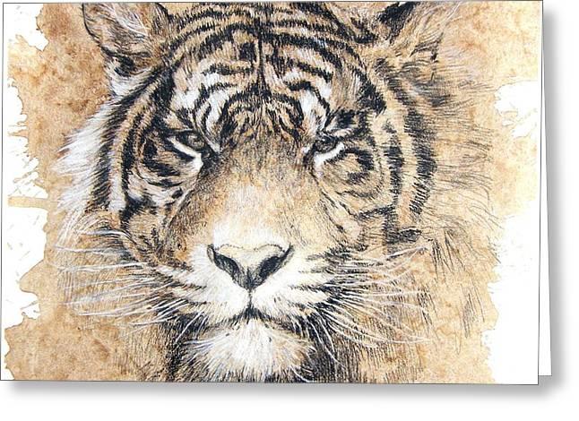 Sumatra Greeting Card by Debra Jones