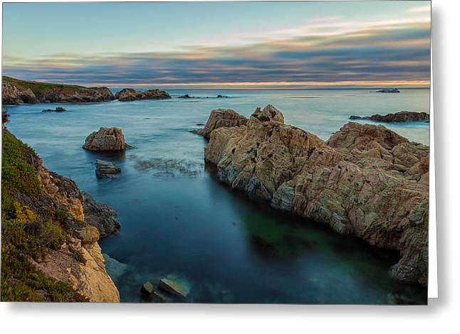 Big Sur California Greeting Cards - Summer Blue Greeting Card by Jonathan Nguyen