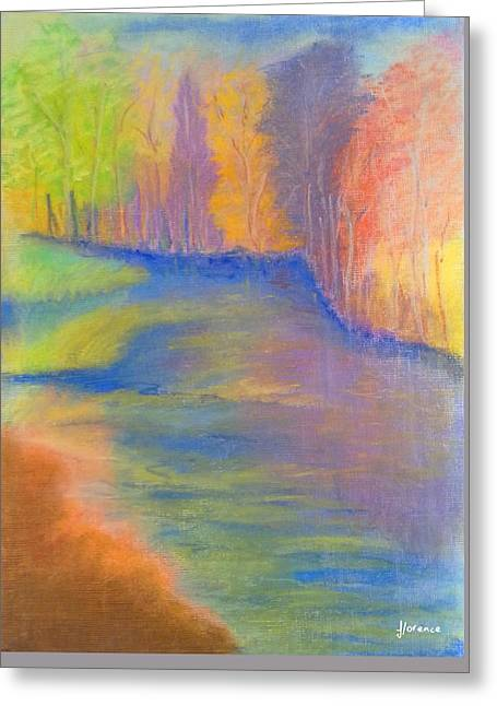 Lemon Art Pastels Greeting Cards - Summer Colors Greeting Card by Florentina Maria Popescu