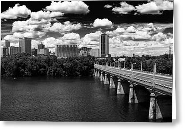 Summer Day In River City Greeting Card by Tim Wilson