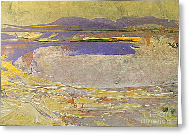 Surreal Landscape Greeting Cards - Summer Dream Greeting Card by Nancy Kane Chapman