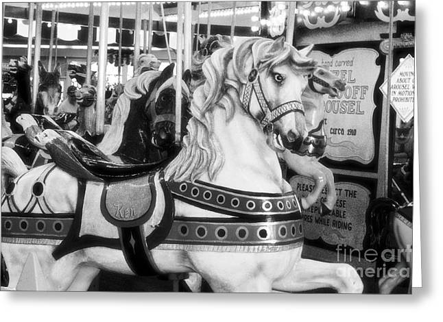 Seaside Heights Photographs Greeting Cards - Summer Fun Greeting Card by Kathy Flugrath Hicks