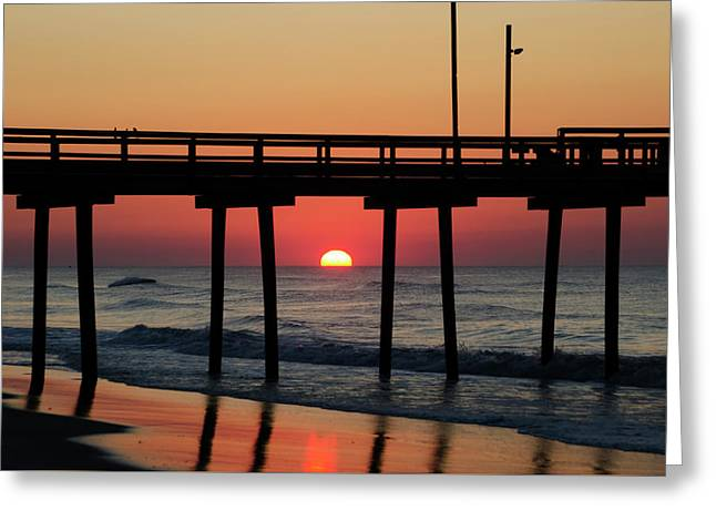 Summer Holiday - Ocean City Greeting Card by Bill Cannon