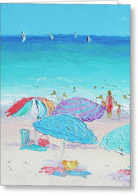 Summer Greeting Card by Jan Matson